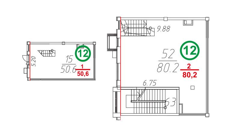 Свободная планировка, 131.2 м²– 2