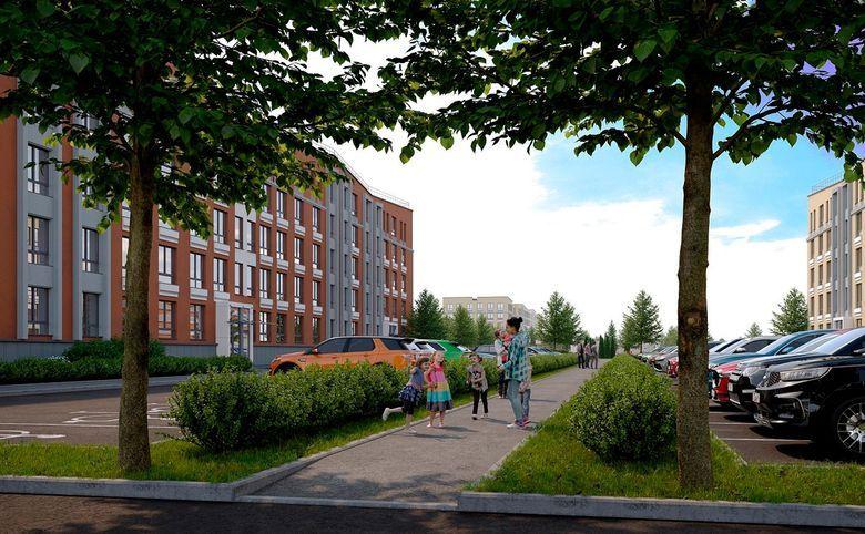 2Е-комнатная квартира, 32.2 м², 1 этаж – 5