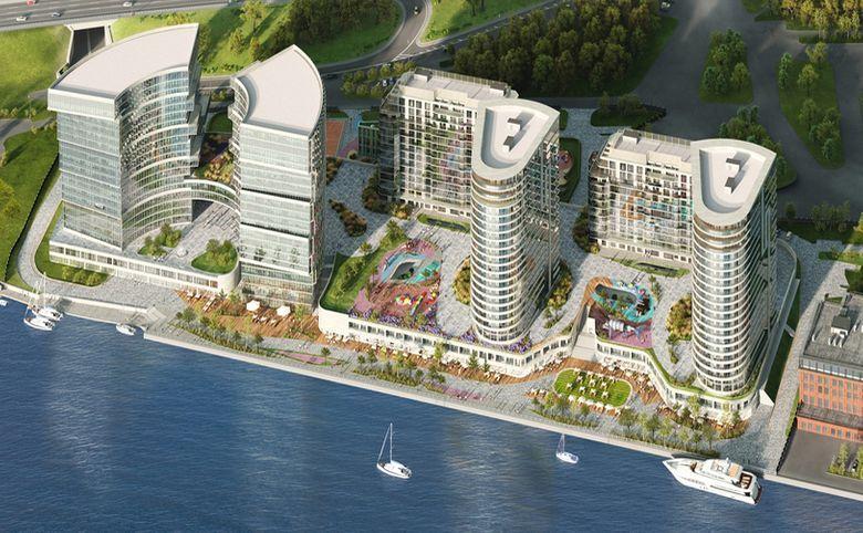 Свободная планировка, 212.9 м², 20 этаж – 26