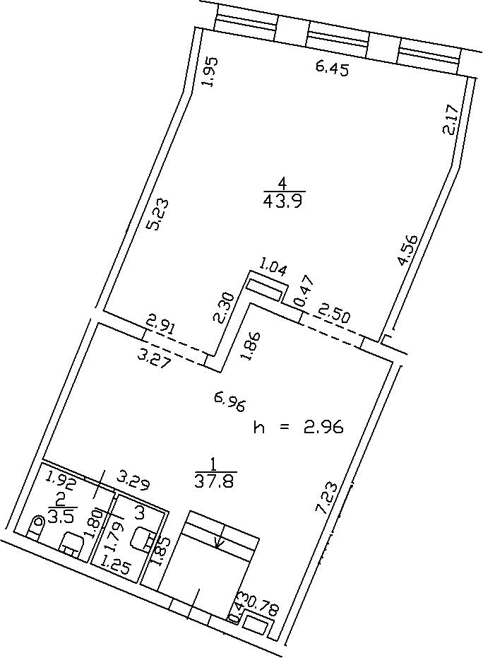 Своб. план., 87.4 м²