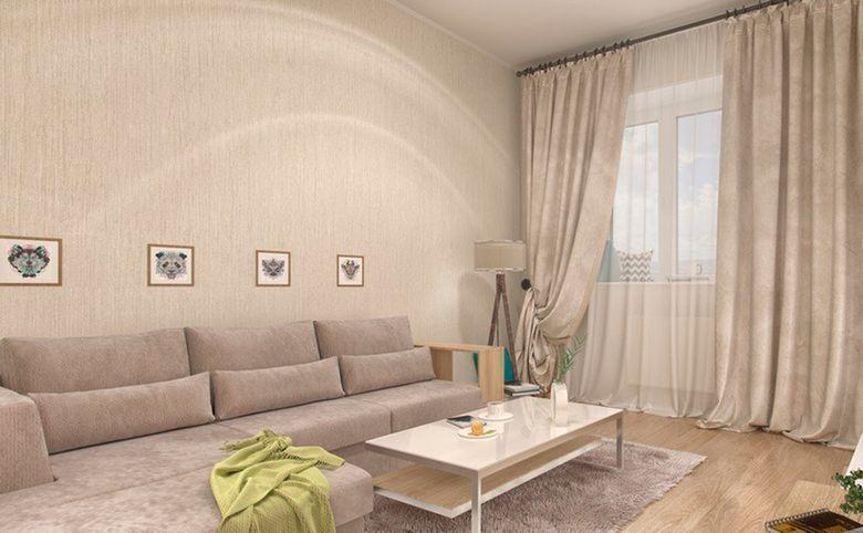3Е-комнатная квартира, 53.45 м², 12 этаж – 1