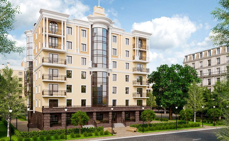 4-комнатная квартира (евро), 130.63 м², 3 этаж – 1