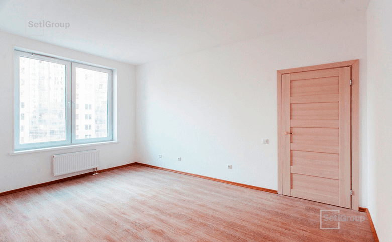 1-комнатная квартира, 37.71 м², 10 этаж – 1