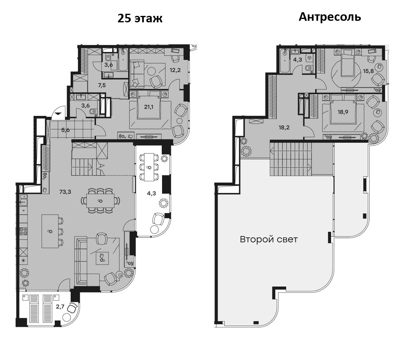 5-к.кв (евро), 207.43 м²