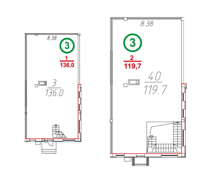 Свободная планировка, 256.1 м²– 2