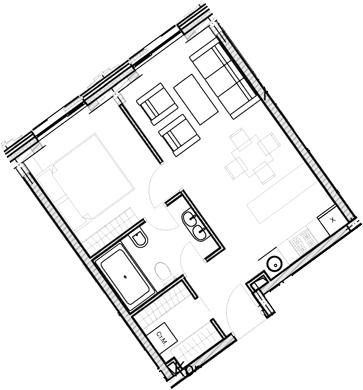 Своб. план., 38.9 м²