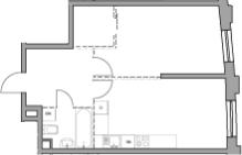 Свободная планировка, 48.54 м²– 2