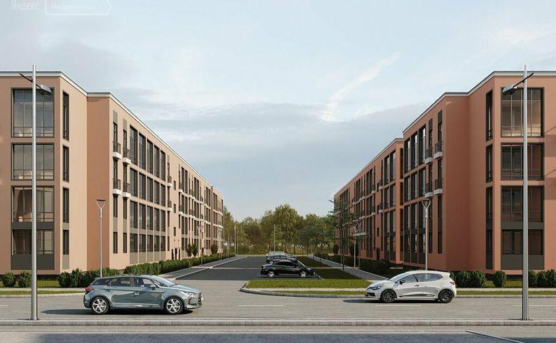 3Е-комнатная квартира, 55.62 м², 2 этаж – 15