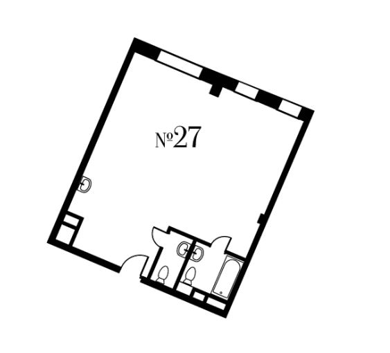 Свободная планировка, 66.1 м²– 2