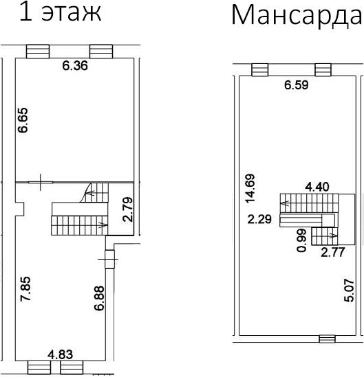 Свободная планировка, 175.6 м²– 2
