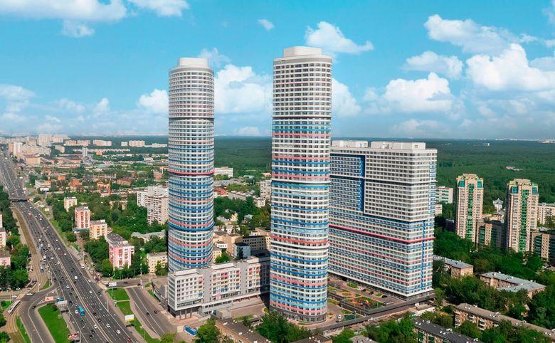 Свободная планировка, 109 м², 26 этаж – 1
