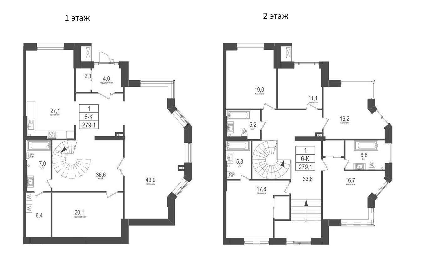 6-к.кв, 279.1 м²