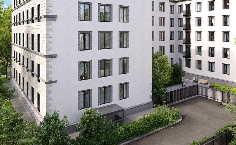 2Е-комнатная квартира, 44.3 м², 2 этаж – 4