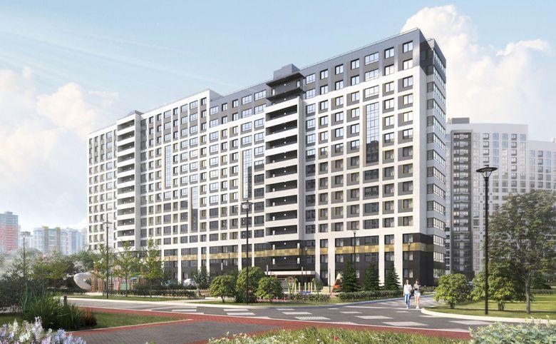 2Е-комнатная квартира, 36.46 м², 2 этаж – 14