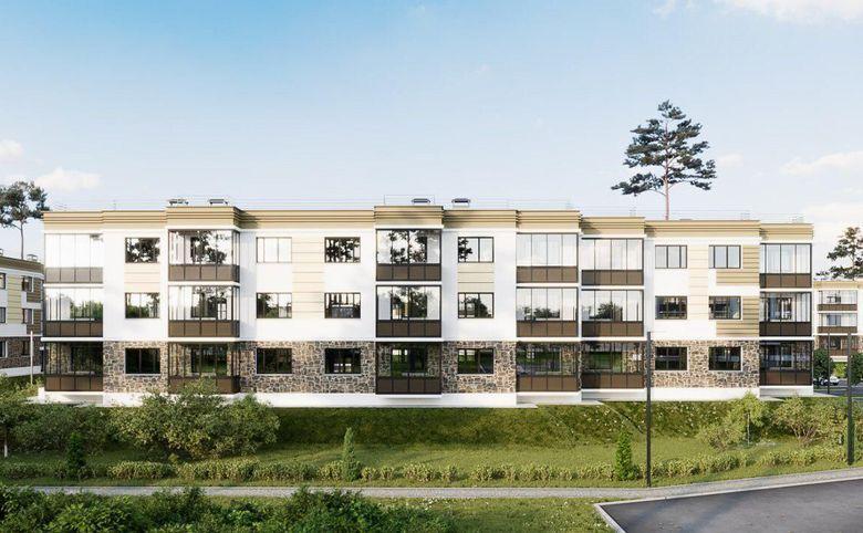 1-комнатная квартира, 47.34 м², 1 этаж – 6