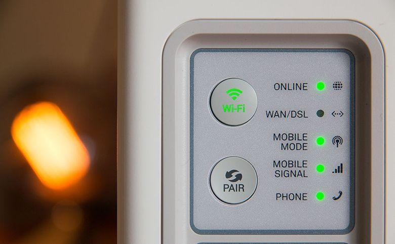 Wi-Fi покрытие в зоне лобби и на территории комплекса
