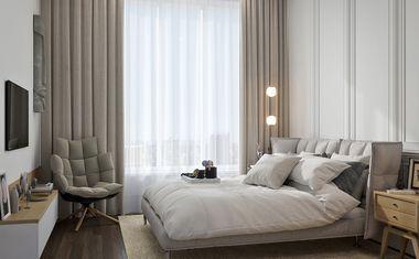 2Е-комнатная, 44.23 м²– 4
