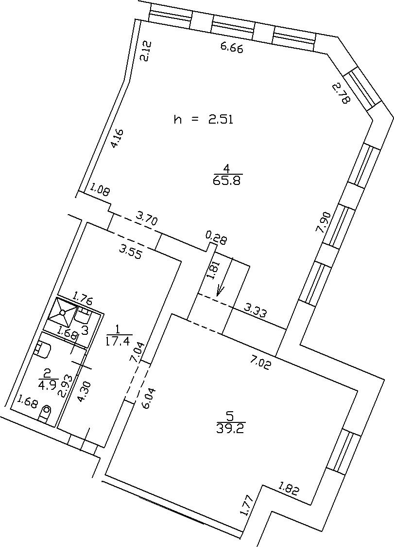 Своб. план., 129.3 м²