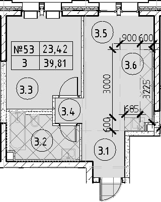2Е-к.кв, 39.81 м²