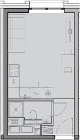 Своб. план., 20.6 м²