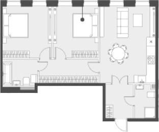 Своб. план., 69.1 м²