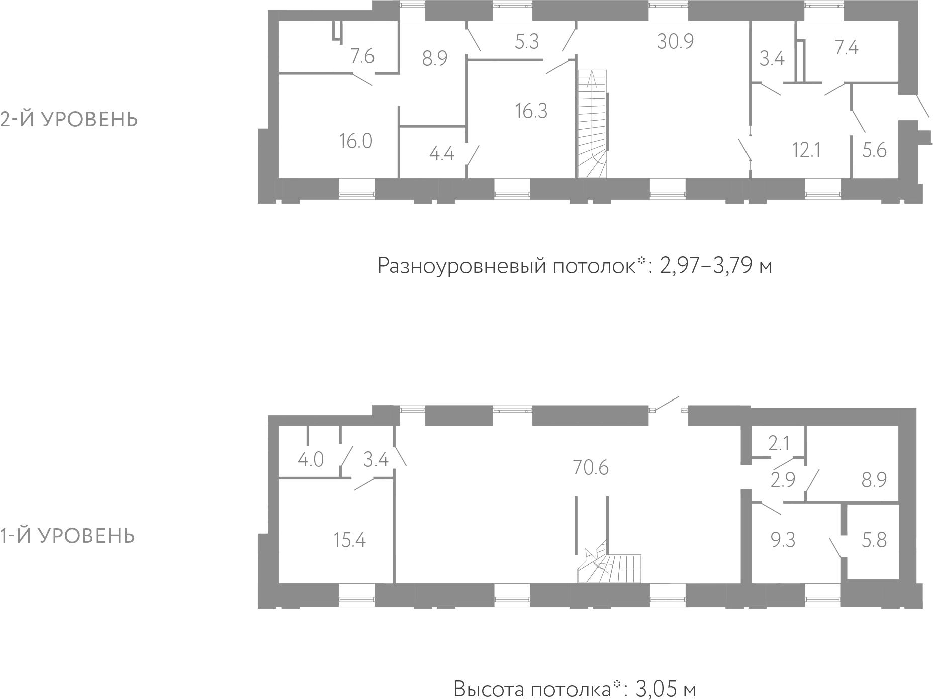 5Е-комнатная, 240.3 м²– 2