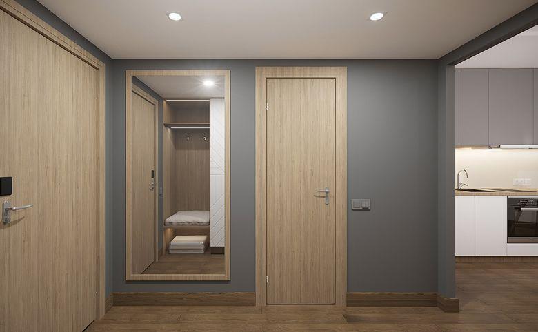 Студия, 34.9 м², 3 этаж – 5