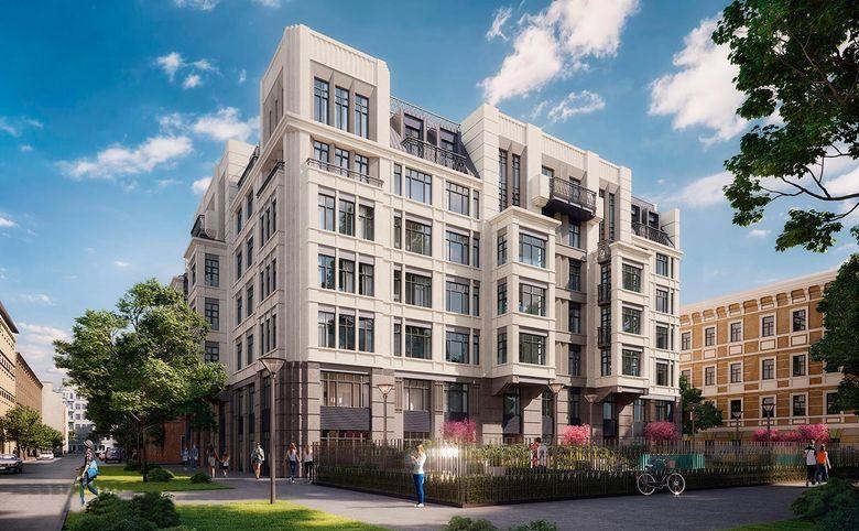 4-комнатная квартира (евро), 111.3 м², 4 этаж – 5
