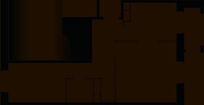 2-комнатная, 46.7 м²– 2
