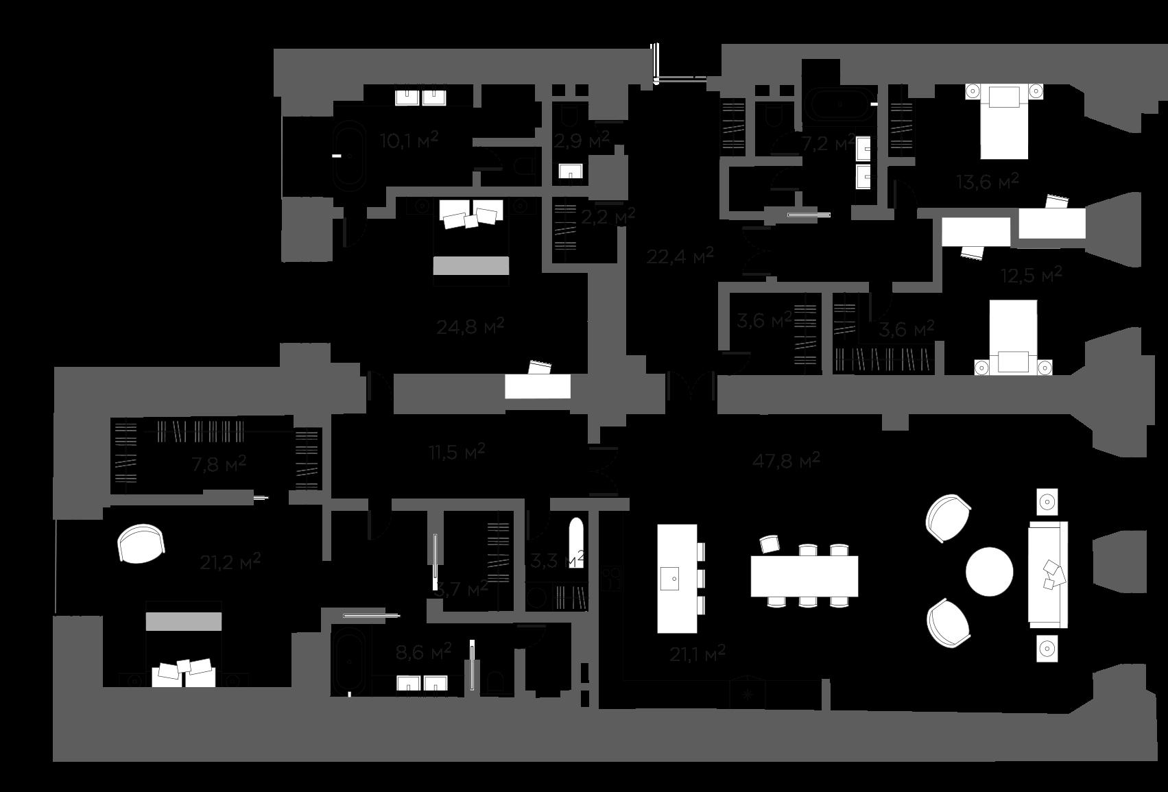 5Е-к.кв, 224.29 м²