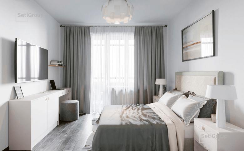 1-комнатная квартира, 32.8 м², 1 этаж – 2