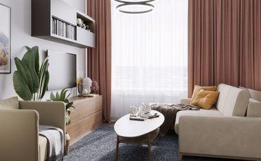 3-комнатная, 78.1 м²– 1