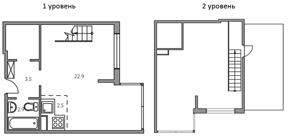 Своб. план., 49.4 м²