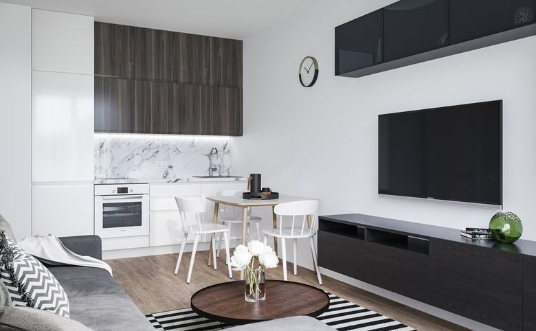 3Е-комнатная квартира, 53.45 м², 12 этаж – 5