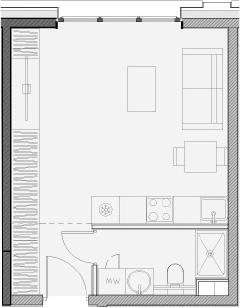 Своб. план., 27.6 м²