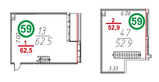 Своб. план., 116.7 м²