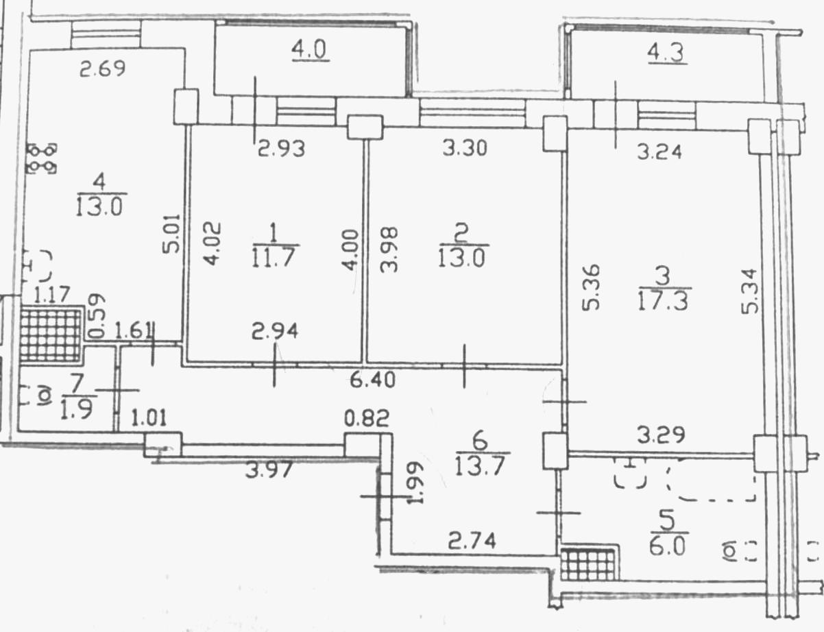 3-к.кв, 79.09 м²