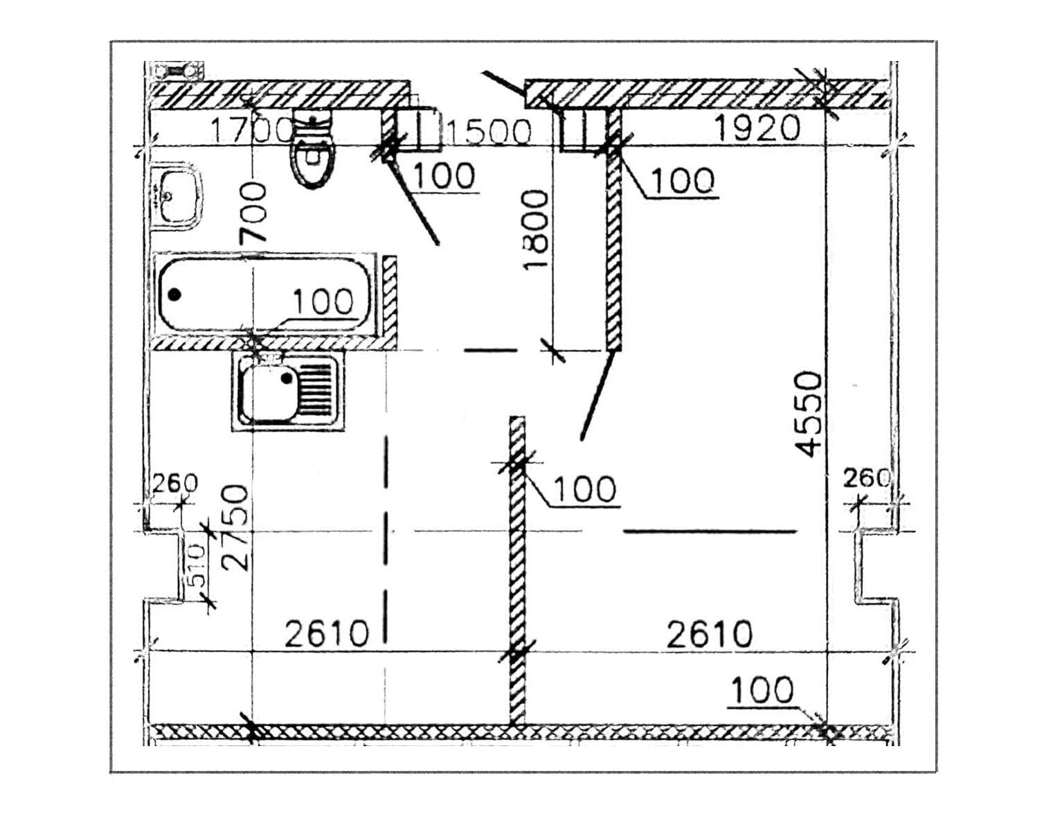 1-к.кв, 23.5 м²