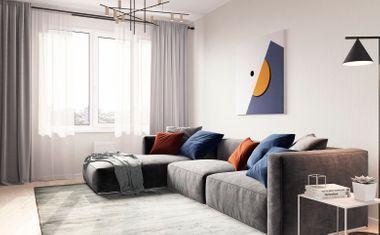 2Е-комнатная, 49.02 м²– 1