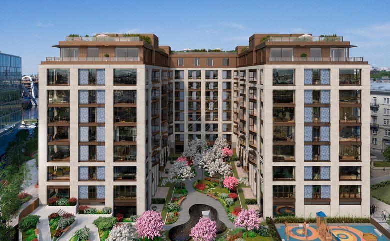 4Е-комнатная квартира, 141.7 м², 2 этаж – 4