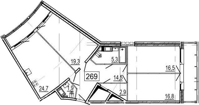 4Е-к.кв, 108.1 м²