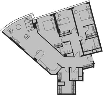 Своб. план., 123.11 м²