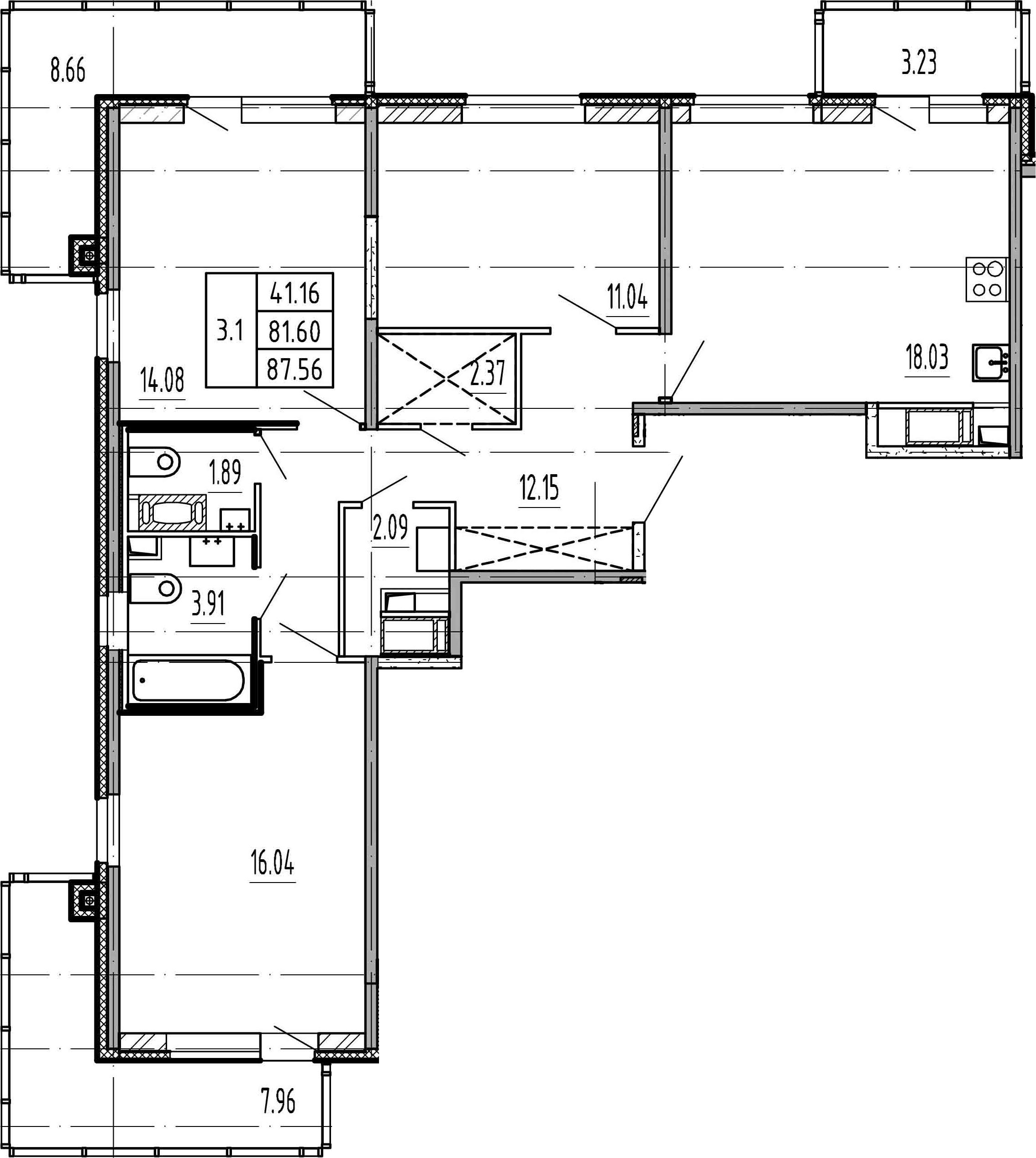 4Е-к.кв, 81.6 м²