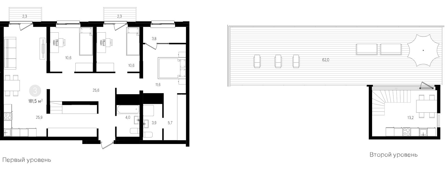 4-к.кв (евро), 196.04 м²