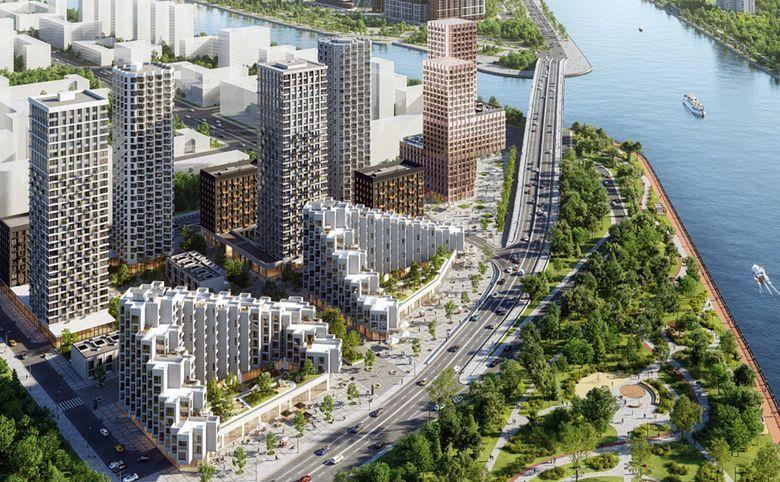 2Е-комнатная квартира, 44 м², 24 этаж – 4