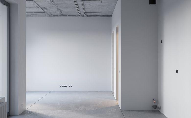 1-комнатная квартира, 45.2 м², 2 этаж – 3