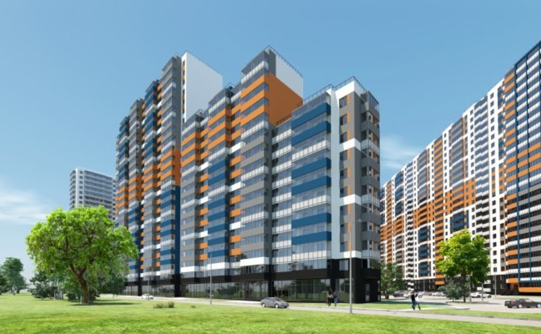 2-комнатная квартира (евро), 43.15 м², 20 этаж – 12