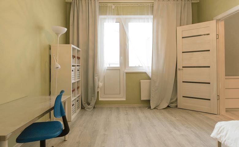 1-комнатная квартира, 32 м², 1 этаж – 3