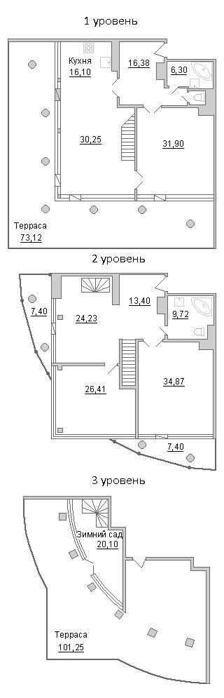 4-к.кв (евро), 419.94 м²
