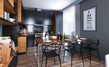 2Е-комнатная, 39.66 м²– 6
